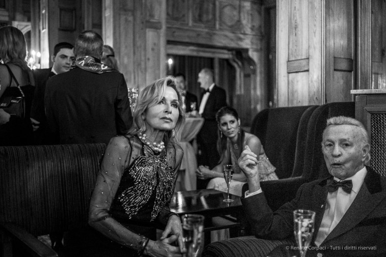 "Badrutt's Palace cocktail reception, Snow Polo World Cup, St. Moritz, January 2018. Nikon D810, 35 mm (35 mm ƒ/2) 1/100"" ƒ/2 ISO 6400"