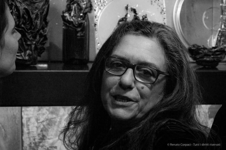 Alessandra Finzi, sculptress. Show-room Gobbetto, Milano Design Week 2018.