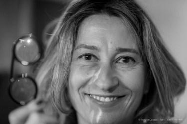 Cristiana Vannini, designer with her creation: Fassamano. Nikon D810, 85 mm (24-120 mm ƒ/4) 1/160 ƒ/1.4 ISO 1800