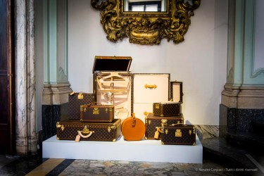 Louis Vuitton exhibit in Palazzo Bocconi. Milano Design Week, April 2018.