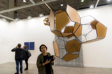 Tómas Saraceno, Stillness in Motion – Cloud Cities. Andersen's Gallery. MiArt, April 2018. Nikon D810, 44 mm (24-120 mm ƒ/4) 1/125 ƒ/8 ISO 1800