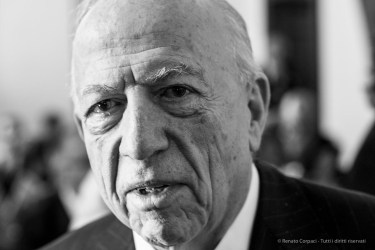 "Fedele Confalonieri, president Mediaset, Veneranda Fabbrica del Duomo. Milano, May 2018. Nikon D810, 85 mm (85 mm ƒ/4) 1/125"" ƒ/8, ISO 2800"