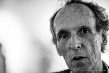 """Bert Kuert, filmmaker, performer, photographer, artist. Milano, 2018. Nikon D810, 85 mm (85 mm ƒ/1.4) 1/125"""" ƒ/1.4 ISO 1600"""
