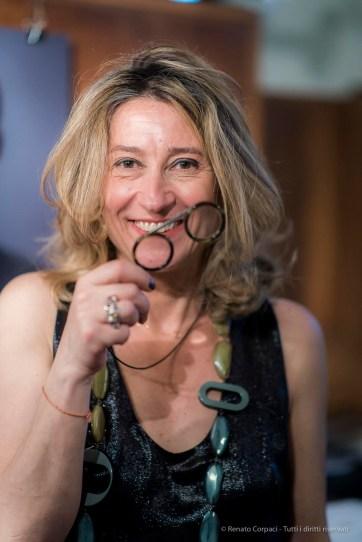 Cristiana Vannini, designer with her creation: Fassamano.