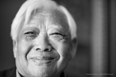"Huo Hsueh-Kan, aka Ho Kan, artist, pioneer of chinese abstraction. Monza, June 2018. Nikon D810, 85 mm (85 mm ƒ/1.4) 1/125"" ƒ/1.4 ISO 400"