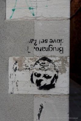 "Banksy in Venice. Fondamenta Zattere ai Gesuiti, September 2018. Nikon D810, 105 mm (24-120 mm ƒ/4) 1/200"" ƒ/8 ISO 200"
