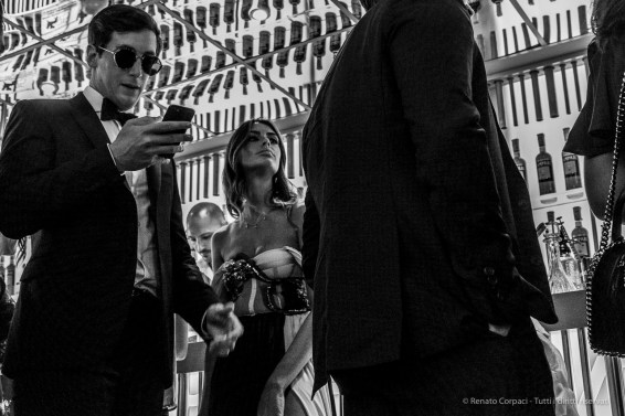 """Lounge Campari, Main Sponsor, at 75^ Edition of the Mostra Internazionale d'Arte Cinematografica della Biennale di Venezia. September 2018. Nikon D810, 48 mm (24-120 mm ƒ/4) 1/160"""" ƒ/8 ISO 11400"""