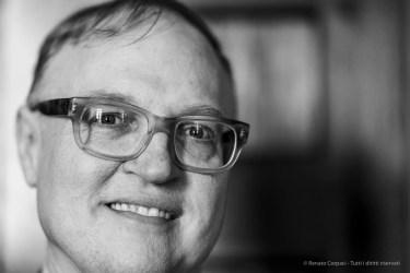 "Frederick Ilchman, art historia, curator. Venica September 2018. Nikon D810, 85 mm (85 mm ƒ/1,4) 1/160"" ƒ/1,4 ISO 900"