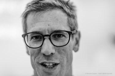 """Guido Comis, curator MASI - Museo d'arte della Svizzera italiana. Lugano September 2018. Nikon D810, 85 mm (85 mm ƒ/1,4) 1/125"""" ƒ/1,4 ISO 110"""