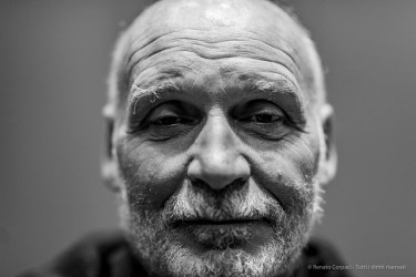 Leonardo Sangiorgi, cofounder Studio Azzurro. Milano, September 2018. Nikon D810, 85 mm (85 mm ƒ/1.4) 1/125 mm ƒ/1.4 ISO 125