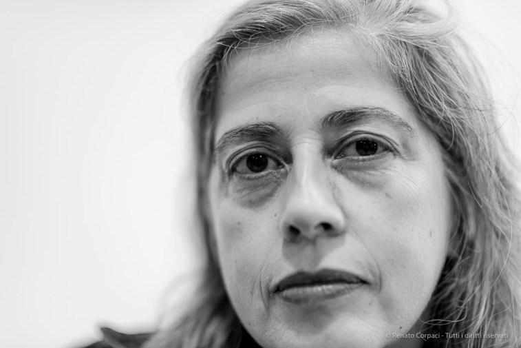 "Leonor Antunes, artist. Milano, September 2018. Nikon D810, 85 mm (85 mm ƒ/1.4) 1/160"" ƒ/1.4 ISO 640"
