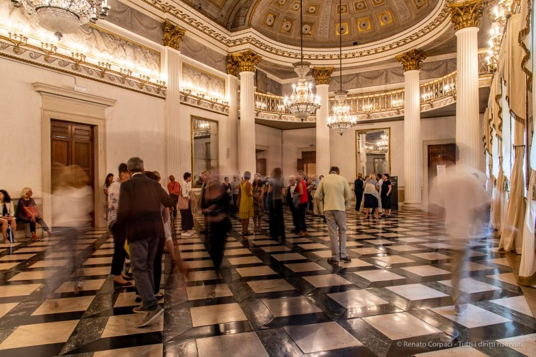 """An event in the Napoleonic Ballroom inside the Museo Correr. Venice, September 2018. Nikon D810, 24 mm (24-120 mm ƒ/4) 0,8"""" ƒ/11 ISO 200"""