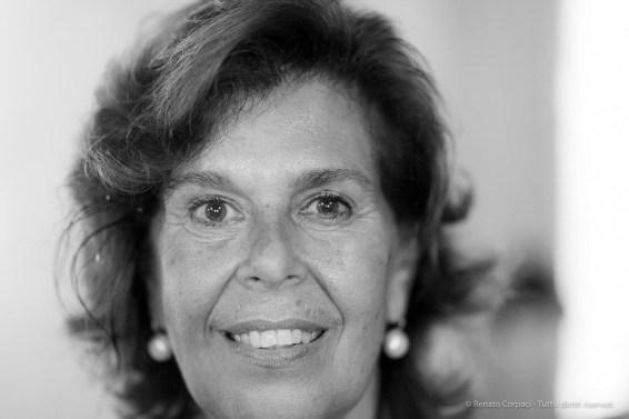 "Paola Marini, art historian, director Gallerie dell'Accademia, Venice, September 2018. Nikon D810, 85 mm (85 mm ƒ/1,4) 1/160"" ƒ/1,4 ISO 2500"