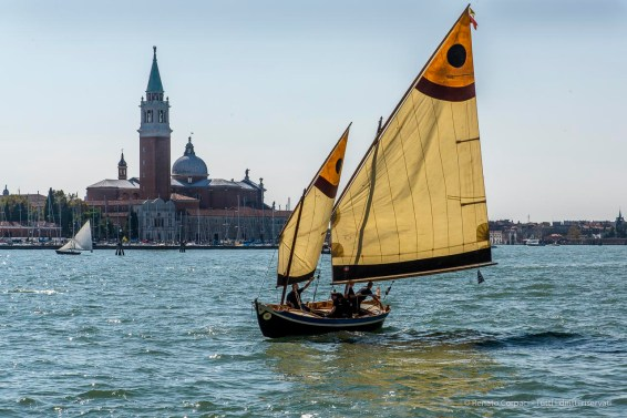 "Regatta of vintage sailboats. Bacino di San Marco, Venezia, September 2018. Nikon D810, 85 mm (24-120 mm ƒ/4) 1/125"" ƒ/14 ISO 64"