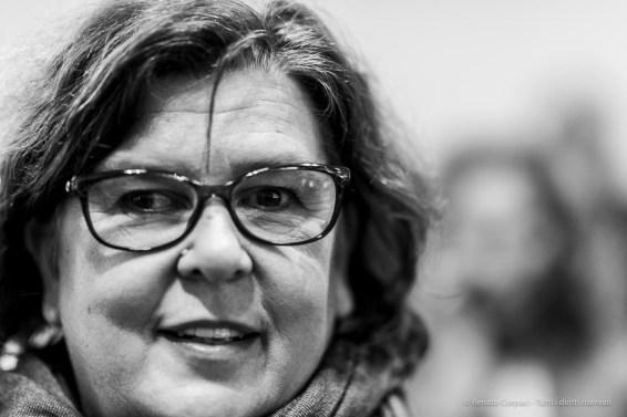 "Beatrice Merz, president Fondazione Merz. Milano, October 2018. Nikon D810, 85 mm (85 mm ƒ/1.4) 1/125"" ƒ/1.4 ISO 1100"