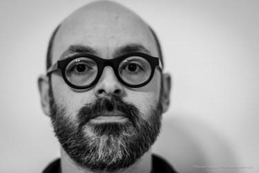 """Alberto Zanchetta, direttore Museo d'Arte Contemporanea di Lissone. Dicembre 2018. Nikon D810, 85 mm (85 mm ƒ/1.4) 1/125"""" ƒ/1.4 ISO 180"""