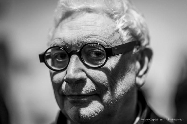 "Demetrio Paparoni, art critic and curator. Lissone, December 2018. Nikon D810, 85 mm (85 mm ƒ/1.4) 1/160"" ƒ/1.4 ISO 250"