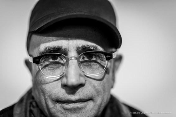"Gabriele di Matteo, painter. Lissone, Italy, December 2018. Nikon D810, 85 mm (85 mm ƒ/1.4) 1/160"" ƒ/1.4 ISO 320"