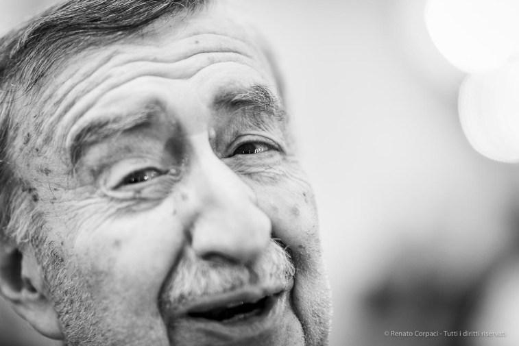 "Italo Lupi, architect, graphic designer. Milano, December 2018. Nikon D810, 85 mm (85 mm ƒ/1.4) 1/125"" ƒ/1.4 ISO 500"
