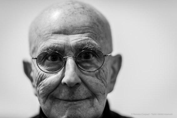 "Lucio Pozzi, painter. Lissone, Italy, December 2018. Nikon D810, 85 mm (85 mm ƒ/1.4) 1/160"" ƒ/1.4 ISO 200"