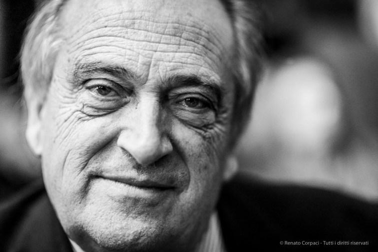 "Luigi Abete, businessman, president BNL-Banca Nazionale del Lavoro. Milano, November 2018. Nikon D810, 85 mm (85 mm ƒ/1.4) 1/125"" ƒ/1.4 ISO 1800"