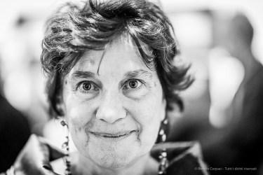 """Cecilia De Carli, faculty contemporary art history, Università Cattolica del Sacro Cuore, curator. Milano, January 2019. Nikon D810, 85 mm (85 mm ƒ/1.4) 1/125"""" ƒ/1.4 ISO 2800"""