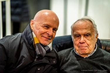 "da Sx: Luigi Borgonovo Virgilio Carnisio. Milano, January 2019. . Nikon D810, 85 mm (85 mm ƒ/1.4) 1/125"" ƒ/1.4 ISO 900"