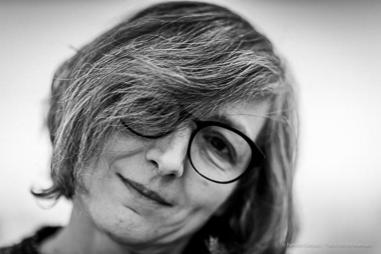 """Eva Marisaldi, artist. Milano, December 2018. Nikon D810, 85 mm (85 mm ƒ/1.4) 1/125"""" ƒ/1.4 ISO 80"""