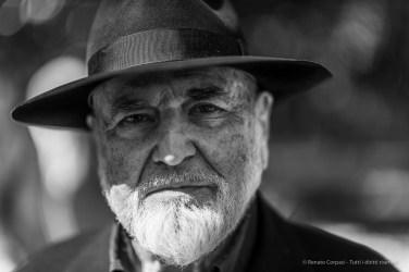 Michelangelo Pistoletto, artist. Milano, March 2019. Nikon D810, 85 mm (85 mm ƒ/1.4) 1/125 ƒ/1.4 ISO 80
