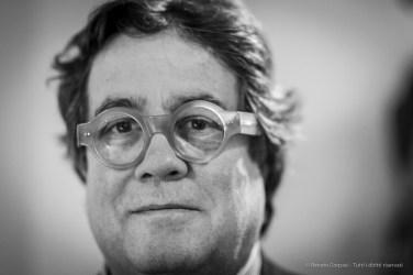 Sebastiano Tusa, achaeologist, councilor for Cultural Heritage Regione Sicilia, paleonthology Università degli Studi Suor Orsola Benincasa in Naples. Milano, February 2019. Nikon D800 85 mm (85 mm ƒ/1.4) 1/125 ƒ/1.4 ISO 1400