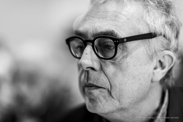 Stefano Boeri, architect, president Fondazione Triennale. Milano, April 2019. Nikon D750, 85 mm (85 mm ƒ/1.4) 1/125 ƒ/1.4 ISO 400