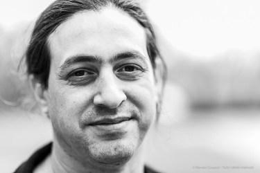 Yuval Avital, composer, multimedia artist and guitarist. Biella, April 2019. D810, 85 mm (85 mm ƒ/1.4) 1/125 ƒ/1.4 ISO 64