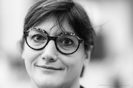 "Ilaria Bonacossa, author, director Artissima. Sesto San Giovanni, October 2019. Nikon D810, 85mm (85,0 mm ƒ/1.4) 1/125"" ƒ/1.4 ISO 1800"