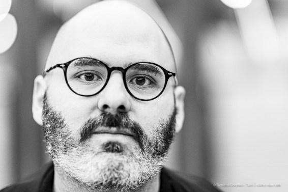 """Rodrigo Hernandez, artist. Sesto San Giovanni, October 2019. Nikon D810, 85mm (85,0 mm ƒ/1.4) 1/125"""" ƒ/1.4 ISO 1400"""