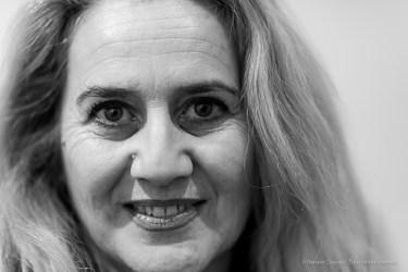 """Maria Cristina Fioretti, director Scuola di Decorazione, Accademia di belle Arti di Brera, desk Cromatology. Milano, February 2020. Nikon D810, 85mm (85,0 mm ƒ/1.4) 1/125"""" ƒ/1.4 ISO 500"""