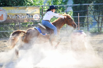 Gara di Barrel Racing a Ventimiglia