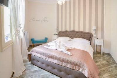 Camera da letto appartamento Bordighera