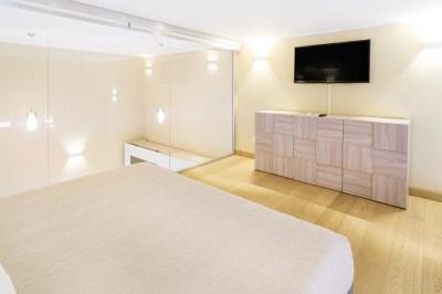 Foto della camera da letto monolocale Sanremo