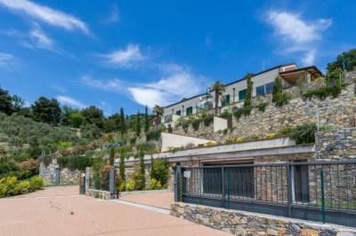 Foto di esterni villa ad Alassio