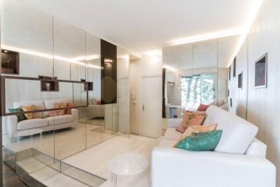 Foto del salone dell'appartamento a Montecarlo