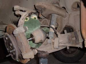 Replacing a Lower Balljoint
