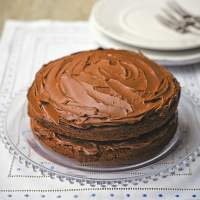 Chocolate Fudge Cake Recipe (Tana Ramsay)