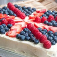 More Jubilee Baking – Union Jack Tray Bake and British Cupcakes