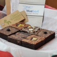 Review and Giveaway: Bluebasil Brownies By Post