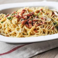 Family Spaghetti Carbonara (ASK Italian Cook Book)