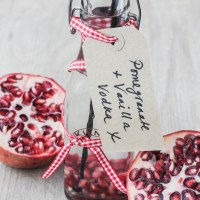 Keep or Give: Pomegranate and Vanilla Vodka