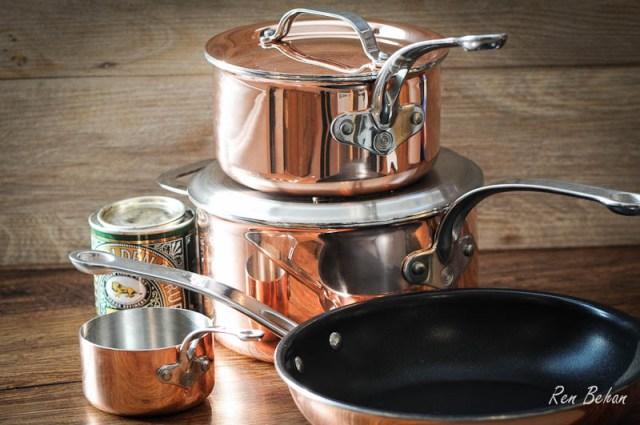 ProWare Copper Pans