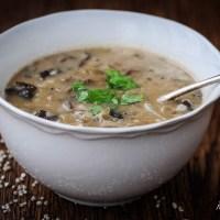 Recipe: Polish Wild Mushroom Soup