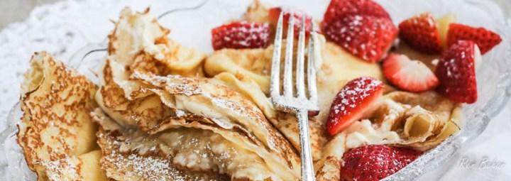 Polish Pancakes Nalesniki