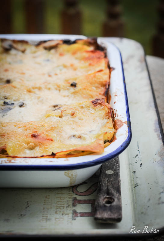 Yeo Valley Chicken and Mushroom Lasagne
